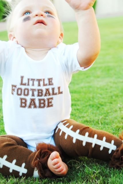 Little Football Babe Set