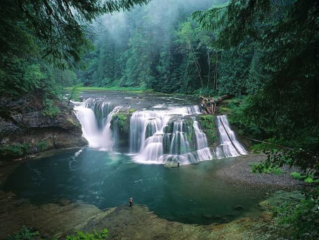 Lower Lewis River Falls - Gifford Pinchot National Forest ...