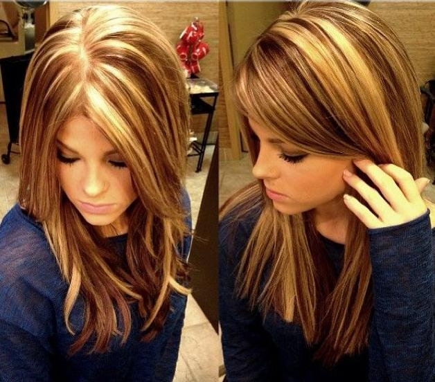 lowlights, highlights, hair colour, hair color, hair colour ideas ...