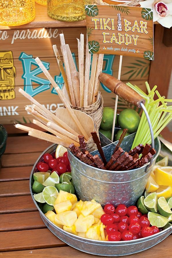 Luau Party Bar Ideas