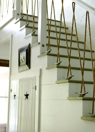 Www Home Goods Com: Stair Railing With Ropes