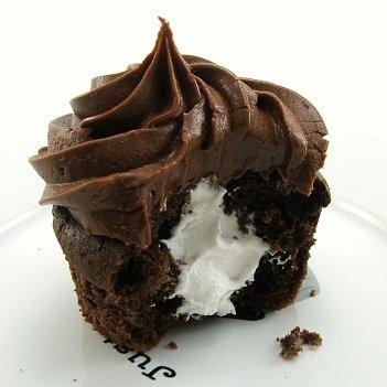 Chocolate Cupcake Surprise Inside Favething Com