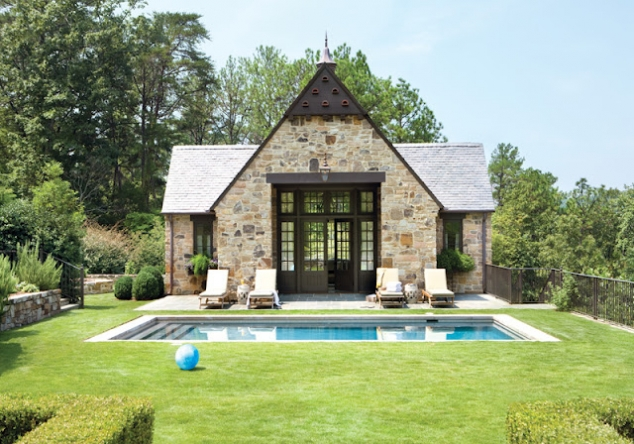Fantastic stone house for Guest house models