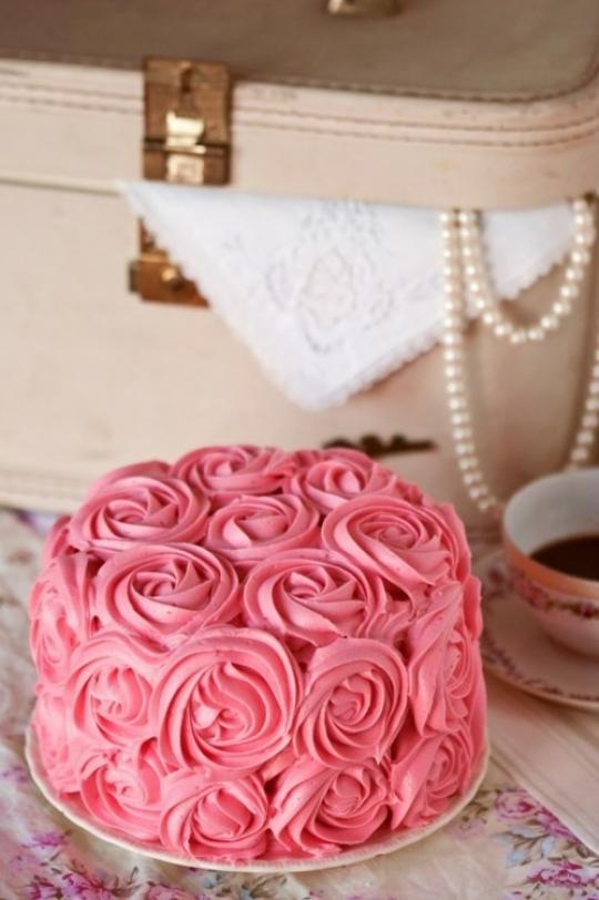 cake rose icing