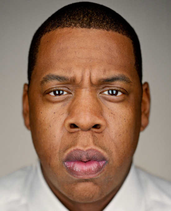 Portrait of Jay-Z