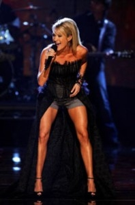 Get Carrie Underwood's ripped legs