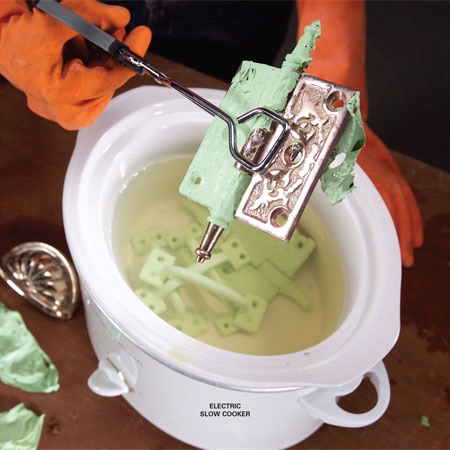 Chemical-Free Paint Removal in a Slow Cooker