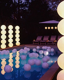 """Pool Party Lighting"""
