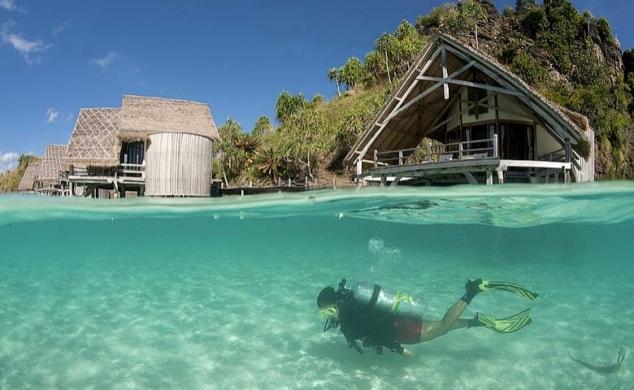 Misool eco resort raja ampat indonesia - Raja ampat dive resort ...
