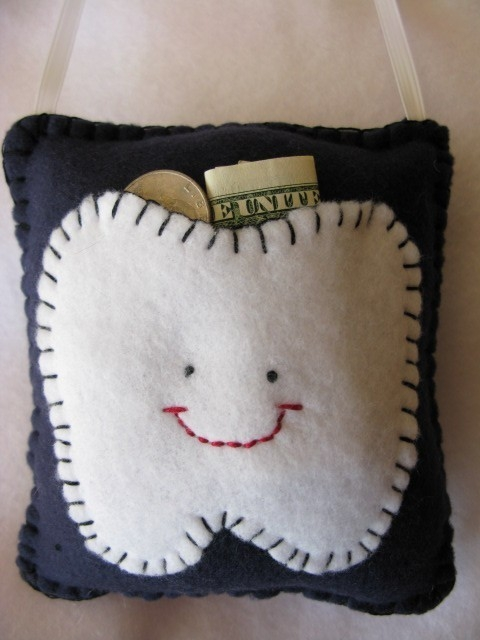 Cute Tooth Pillow : Tooth Fairy Pillow - FaveThing.com