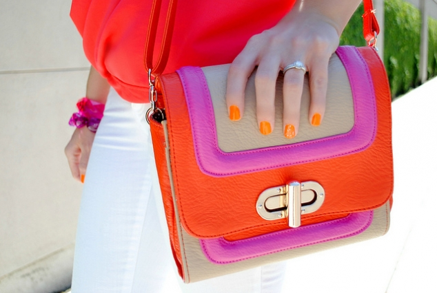 Colourblock Bag