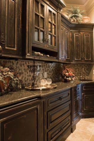 dark color kitchen cabinets rustic kitchen cupboards favething 14444