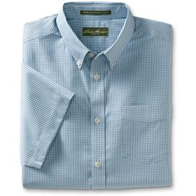 Relaxed Fit Wrinkle-Free Pinpoint Pattern Oxford Shirt