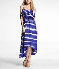 Hi-Lo Hem Maxi Dress