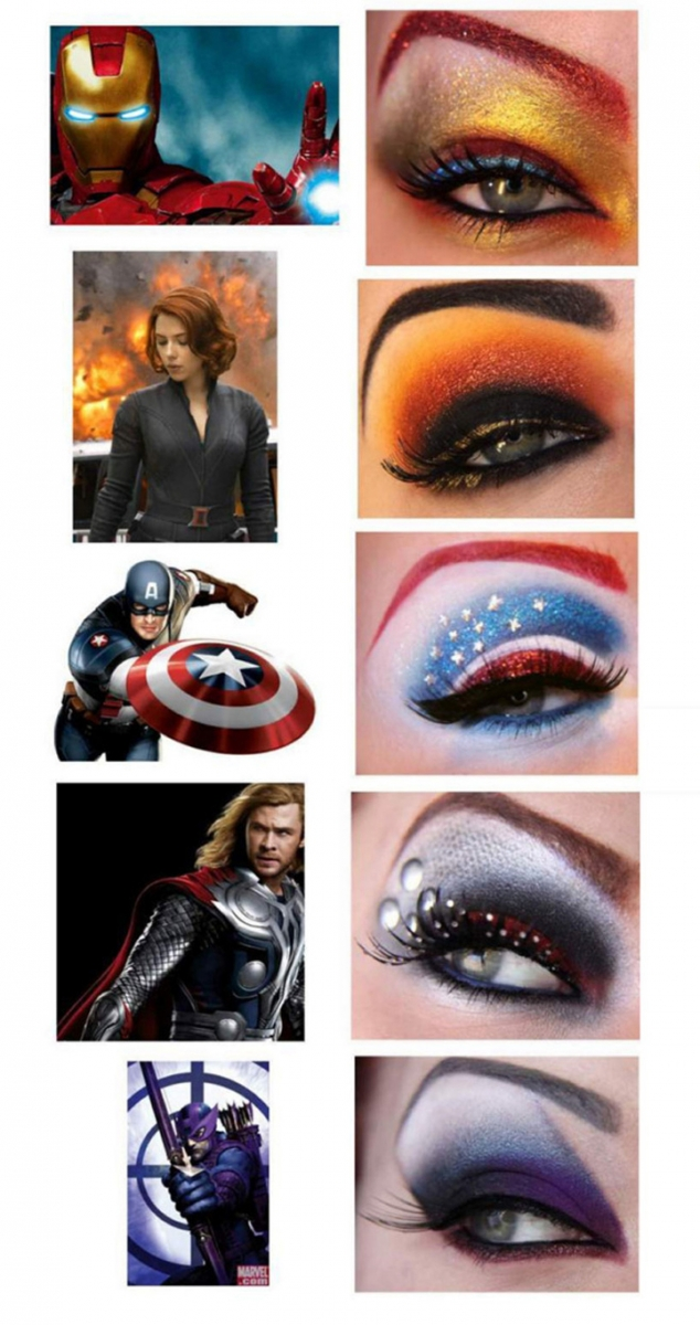 Superhero Makeup superhero inspired eye...