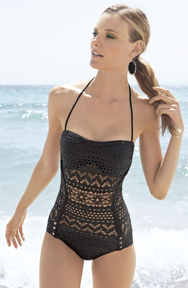 Crochet One Piece Bathing Suit : One Piece Swimsuit in All Types of Style