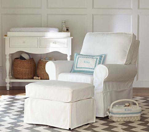 Delicieux Babyroom Chair And Ottoman