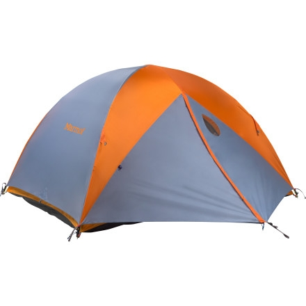 Marmot Limelight Tent with Footprint and Gear Loft: 3-Person 3-Season