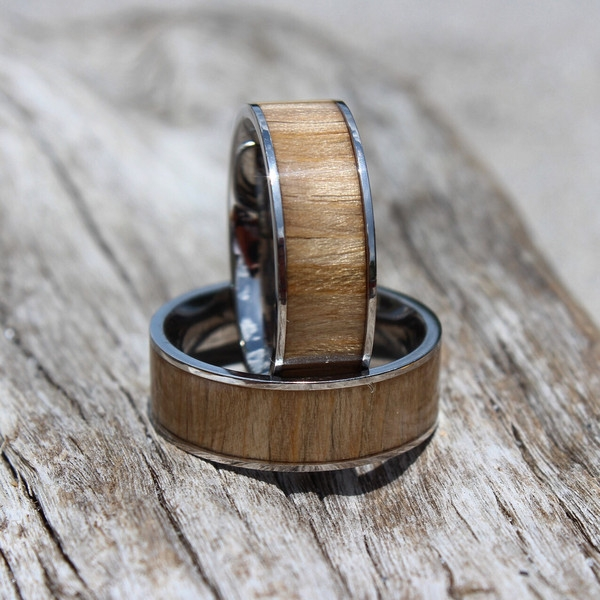 Men's Drift Wood Ring