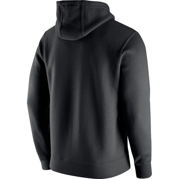 Men's Nike Black Oakland Raiders Club Fleece Logo Pullover Hoodie - Image 3