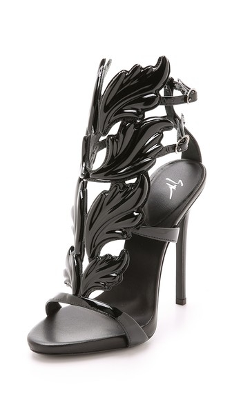 Metal Wing Sandals by Giuseppe Zanotti