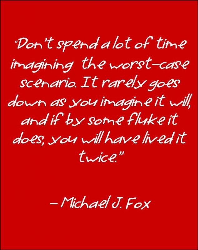 Michael Fox Quote Main Screen Game Awards