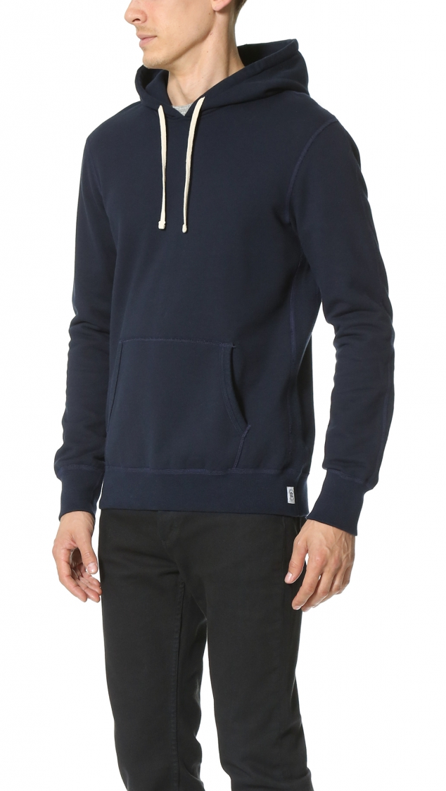 Mid Weight Terry Pullover Hoodie - Image 3