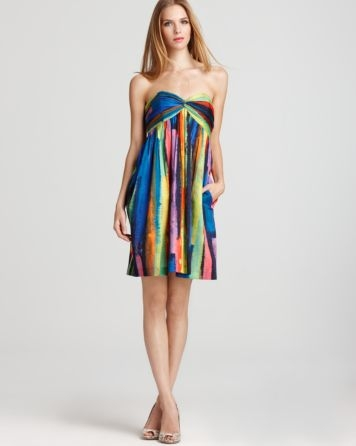 Milly Dress - Twist Strapless