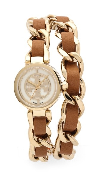 Mini Reva Double Wrap Watch by Tory Burch