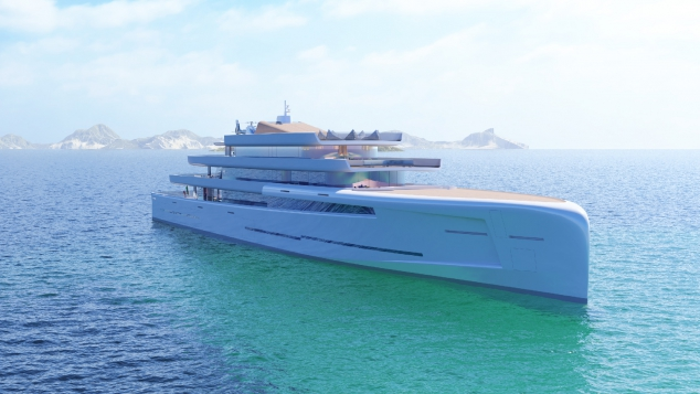MIRAGE 106m Luxury Motor Yacht