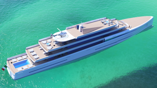 MIRAGE 106m Luxury Motor Yacht - Image 2
