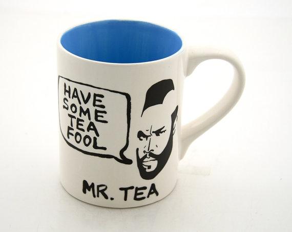 Mr Tea Mug FaveThingcom
