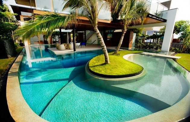 Mẫu thiết kế bể bơi chuyên nghiệp