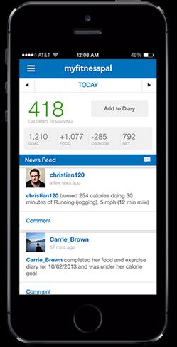 My Fitness Pal app - FaveThing.com