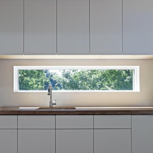 Narrow kitchen window for Narrow window