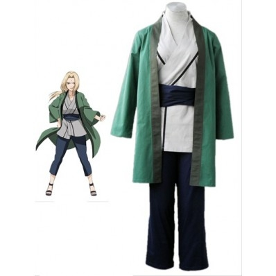 Naruto Tsunade Cosplay Costume - FaveThing.com