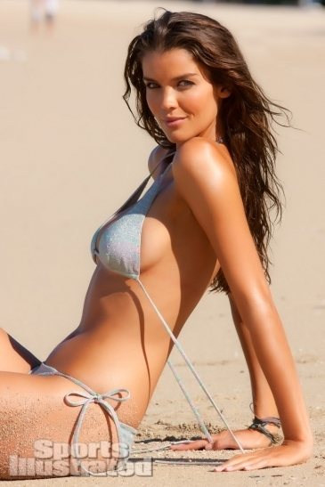 Natasha Barnard in a bikini by Elizabeth Kosich New York