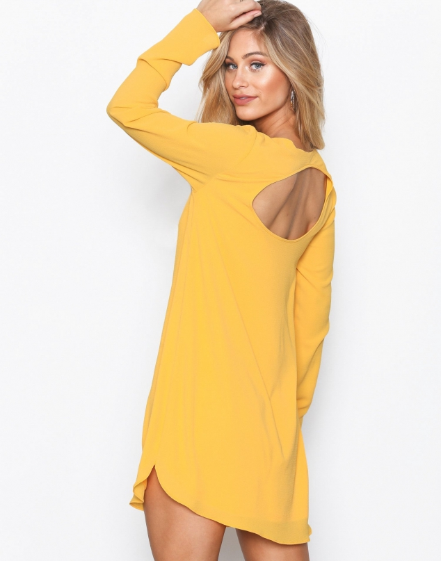 NLY Trend Long Sleeve Shift Dress