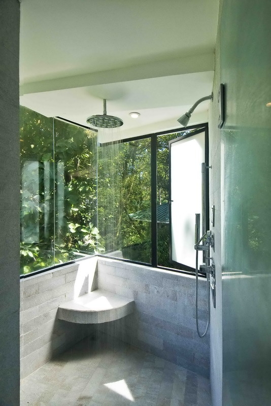 Open bathroom - Open shower bathroom design ...