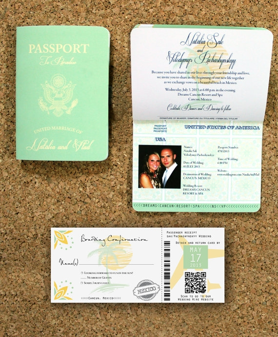 Destination Wedding Invites could be nice ideas for your invitation template