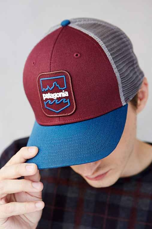 Patagonia Badge Patch Trucker Hat Favething Com