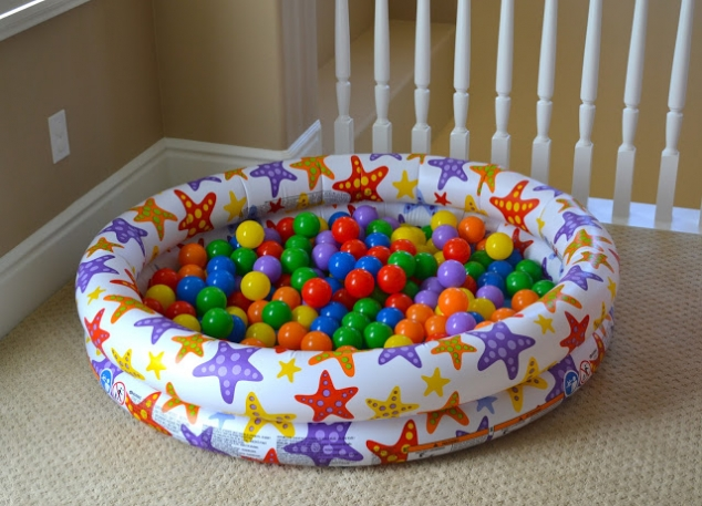 Playroom ideas - ball pit