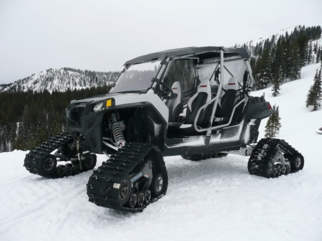 Polaris Rzr Xp 4 With Camoplast Tatou 4s Tracks
