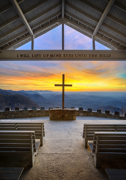 Pretty Place Chapel Blue Ridge Mountain South Carolina