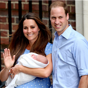 Prince William and wife Catherine present son, George Alexander Louis to the world