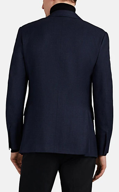 Ralph Lauren Checked Wool-Blend Two-Button Sportcoat - Image 2