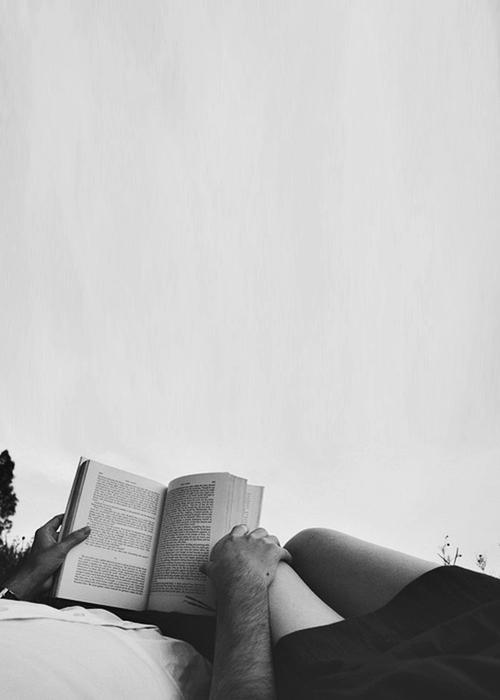 Reading Couple - FaveThing.com