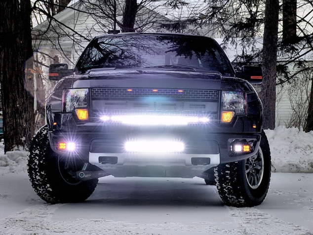 Rigid Industries LED Lighting for Ford F150 Raptor