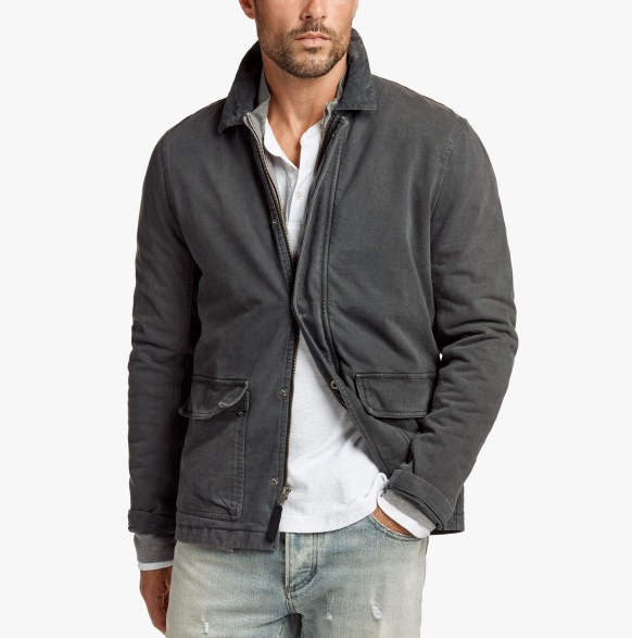 Rigid Jersey Field Jacket