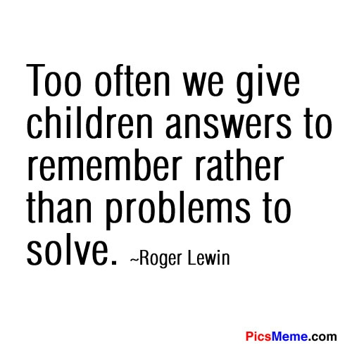 Roger Lewin quote